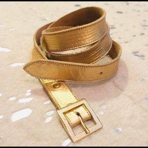 B-low the Belt Gold Belt